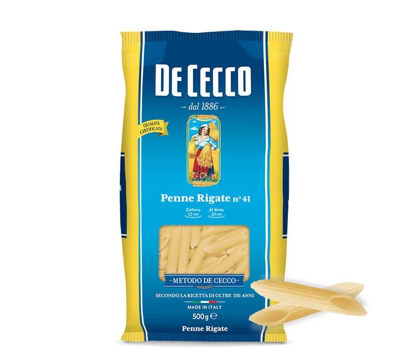 De Cecco Penne Rigate Nr. 41 - 1kg