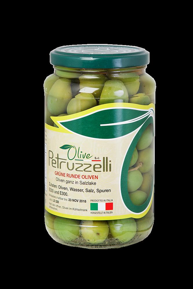 Petruzzelli Olive Verdi Tonde Nocellara