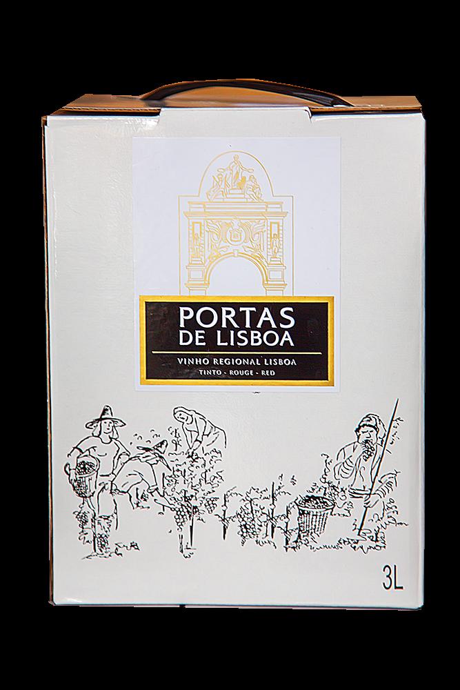 Portas de Lisboa tinto 3 L BIB