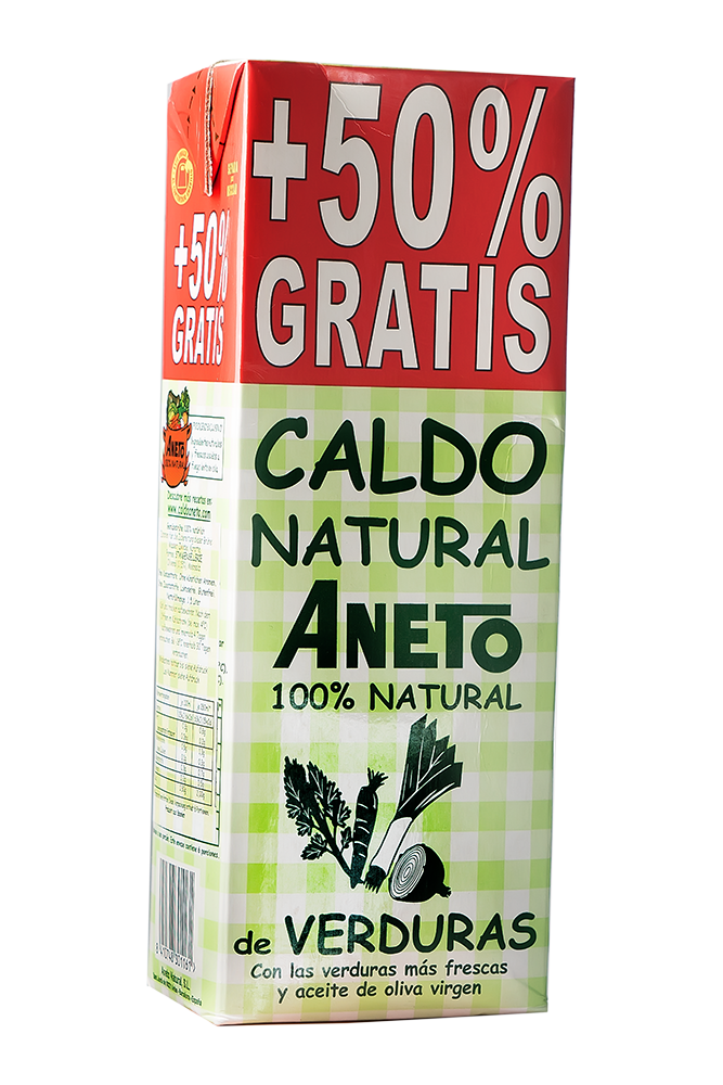 Caldo de Verduras Gemüsebrühe 1,5 L