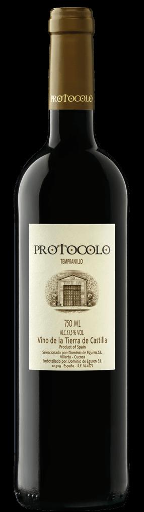 Protocolo Tempranillo Flasche
