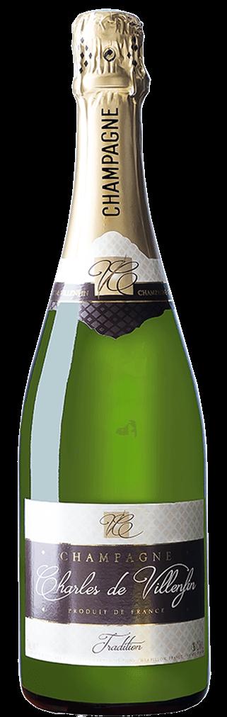 Charles de Villenfin Champagne Tradition Brut Flasche