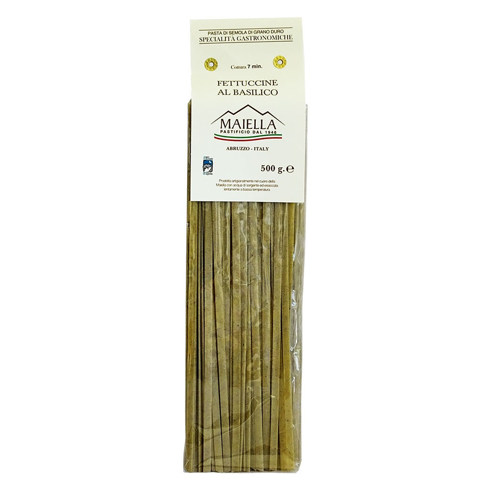 Maiella Fettucine mit Basilikum 500g