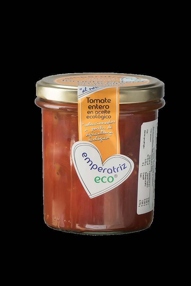Emperatriz Ganze Bio Tomaten in Bio Öl eingelegt im Glas 330g BIO
