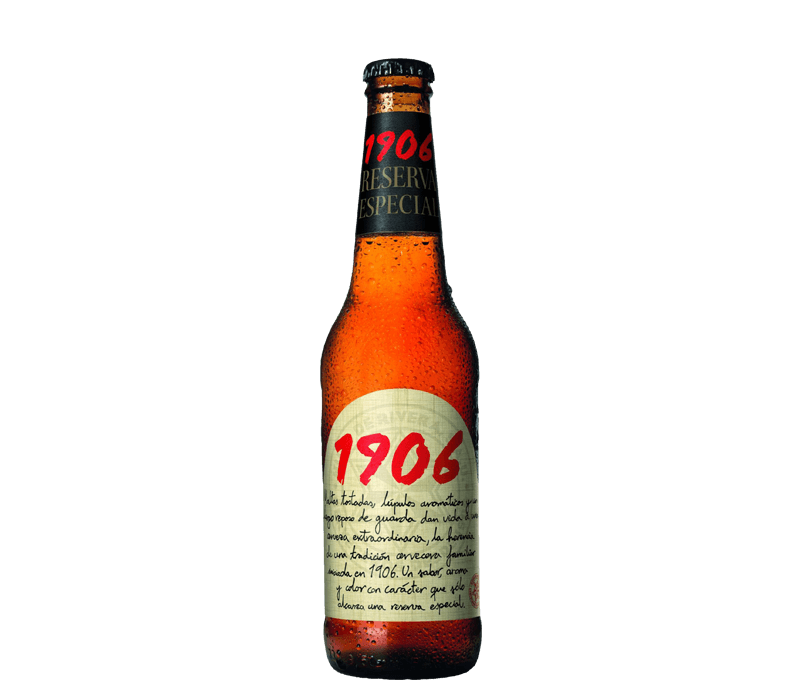 Estrella Galicia 1906 Reserva Flasche
