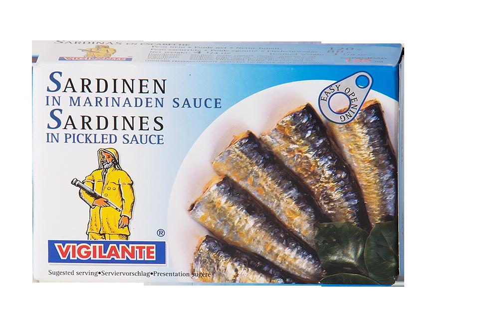 Sardinen in Marinaden Sauce