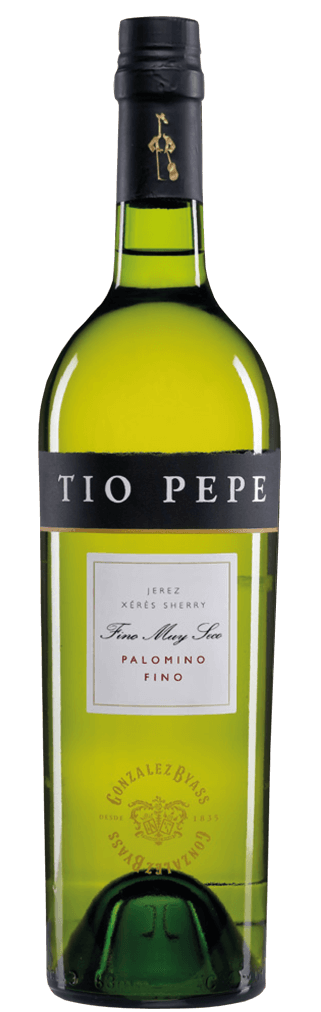 Tio Pepe Palomino Fino Sherry Muy Seco Flasche