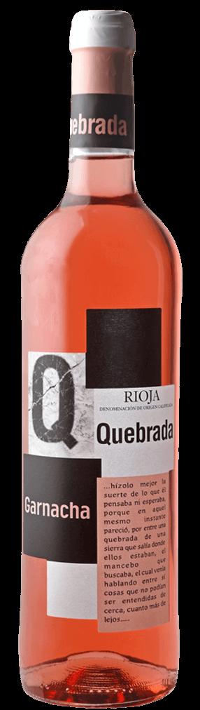 Quebrada Garnacha Rosado Flasche