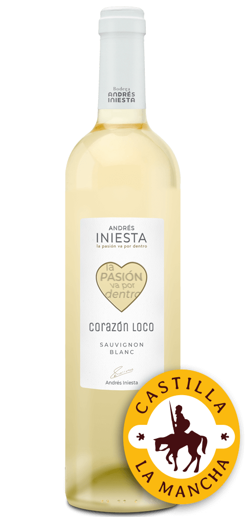 Corazón Loco Blanco Flasche