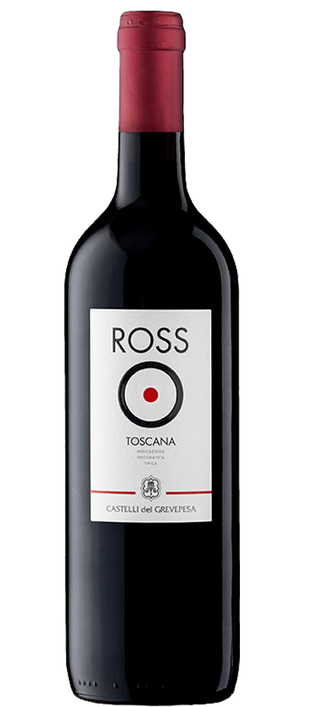 Castelli del Grevepesa Rosso Toscana Flasche