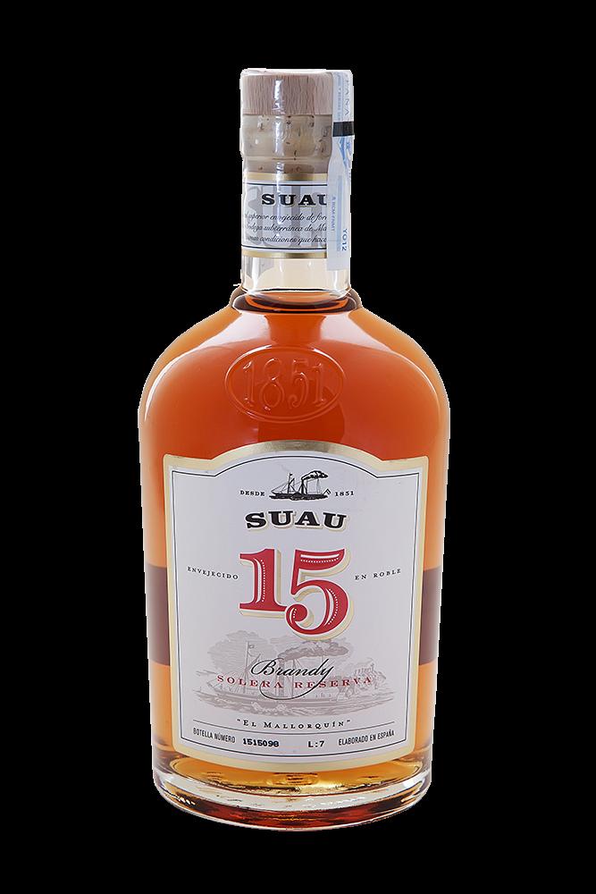 Brandy Suau 15 Solera Reserva