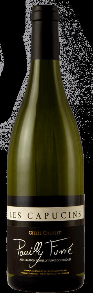 Gilles Chollet Les Capucins Pouilly Fumé Flasche