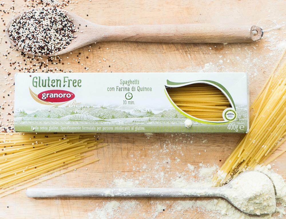 Spaghetti ohne Gluten mit Quinoa Mehl