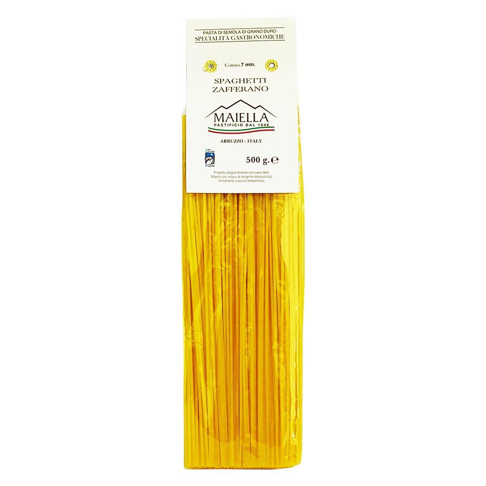 Spaghetti mit Safran