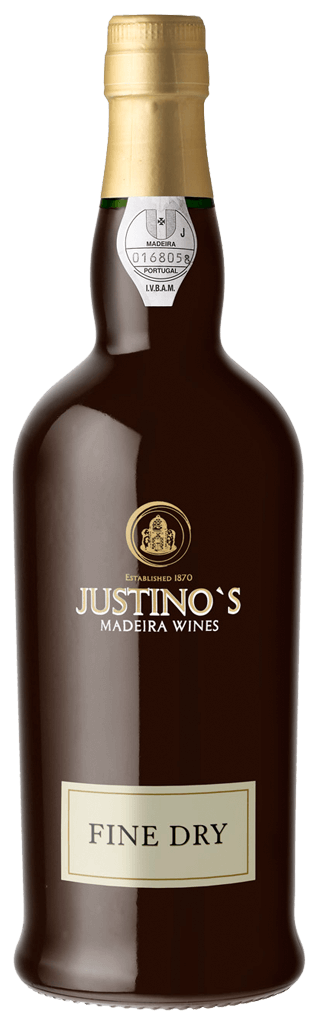 Justino's Madeira Fine Dry 3 Years Flasche