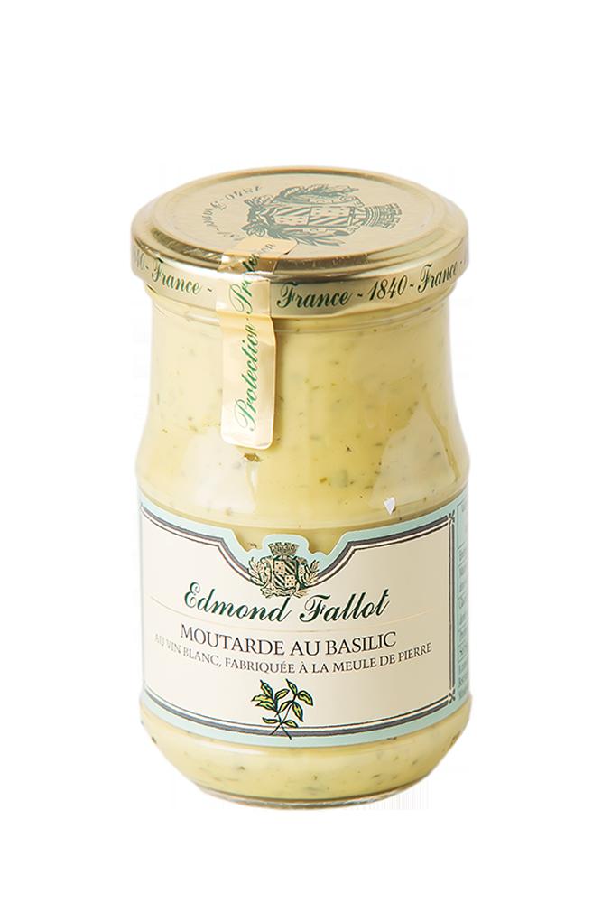 Dijon Senf mit Basilikum