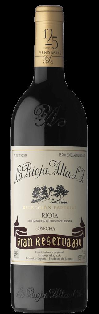 Rioja Alta 890 Gran Reserva Tinto 0,75l Flasche